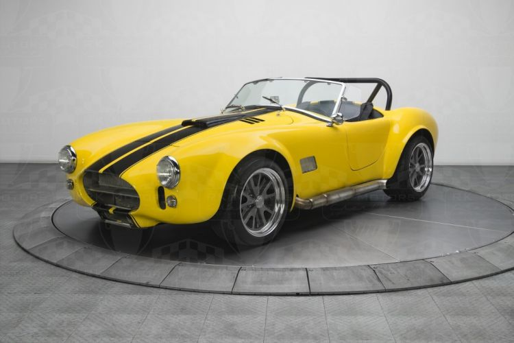 1965 Shelby Cobra cars yellow wallpaper