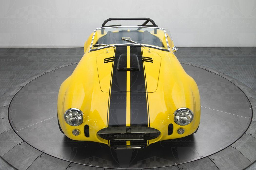 1965 Shelby Cobra cars yellow wallpaper