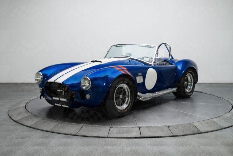 1965 Shelby Cobra cars blue CSX-4064 462 wallpaper