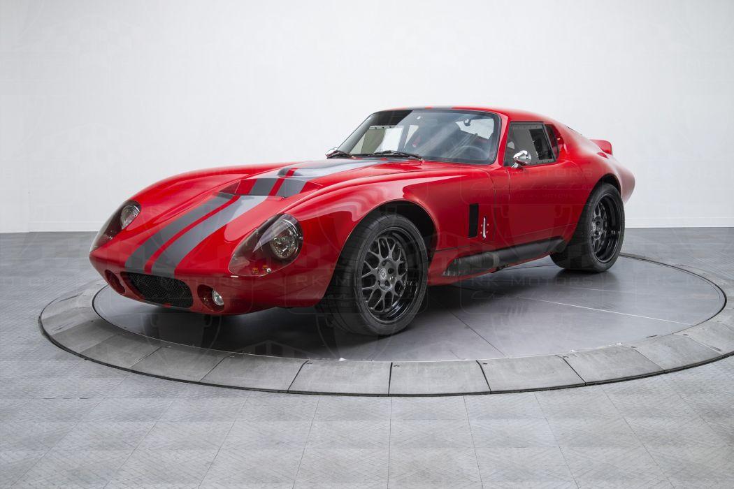 1965 Shelby Cobra Daytona cars red racecars wallpaper