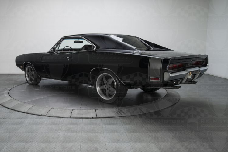 1970 Dodge Charger 500 black cars Pro Touring wallpaper