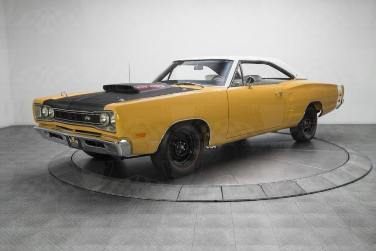 1969 Dodge Coronet A12 Super Bee 440 Six Pack cars yellow wallpaper