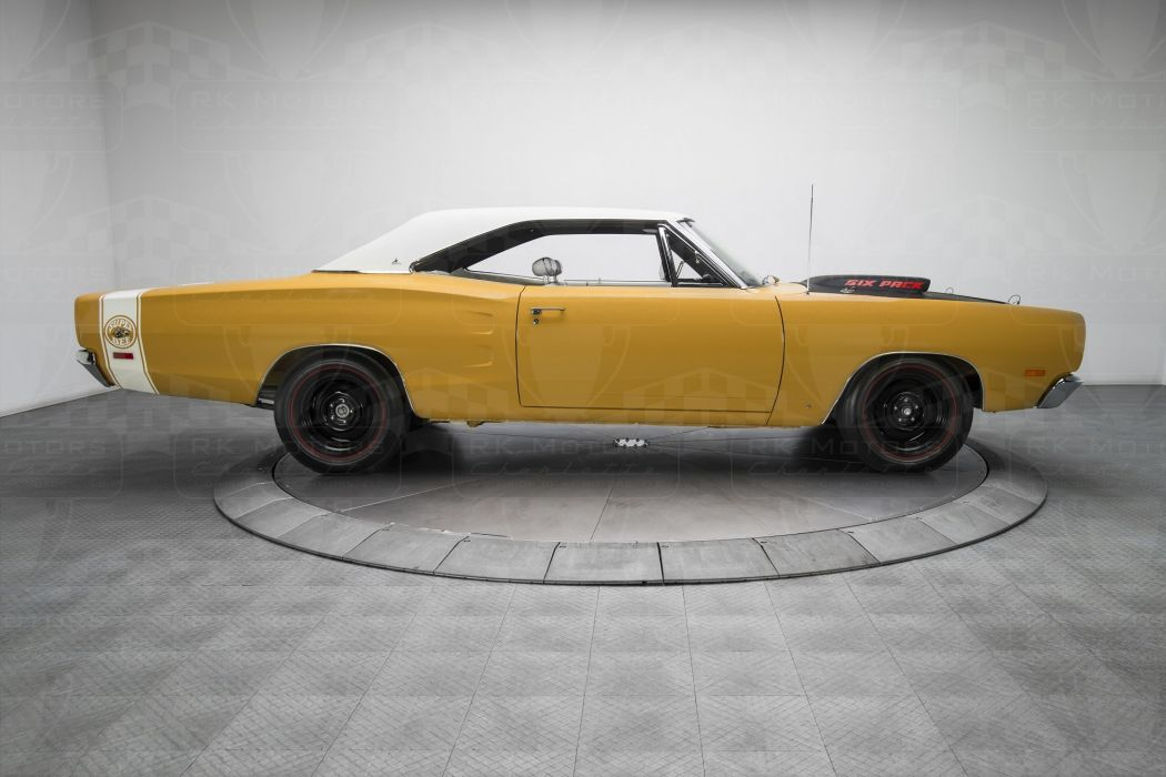 1969 Dodge Coronet A12 Super Bee 440 Six Pack cars yellow wallpaper