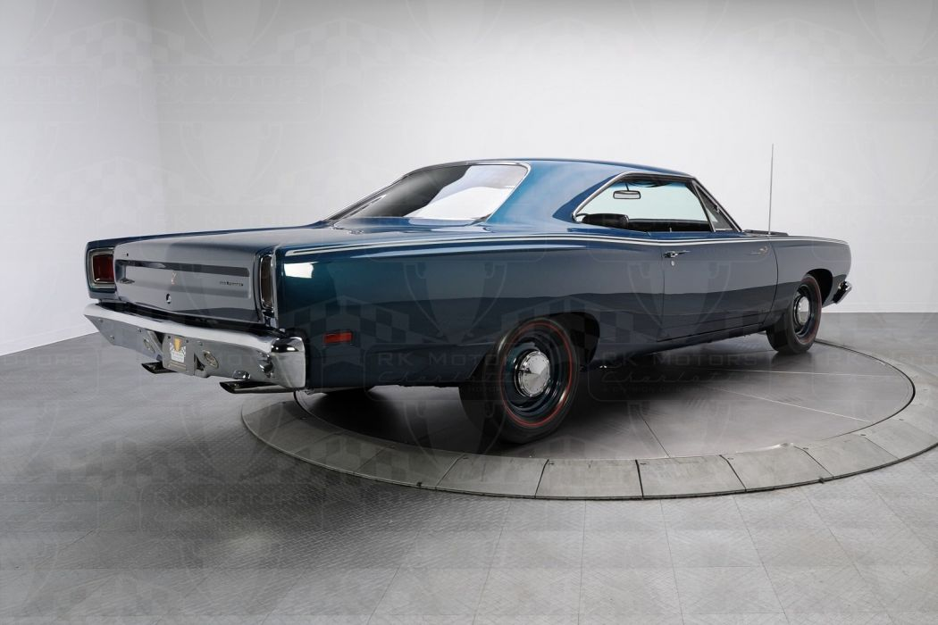 1969 Plymouth Road Runner cars HEMI 426 blue wallpaper