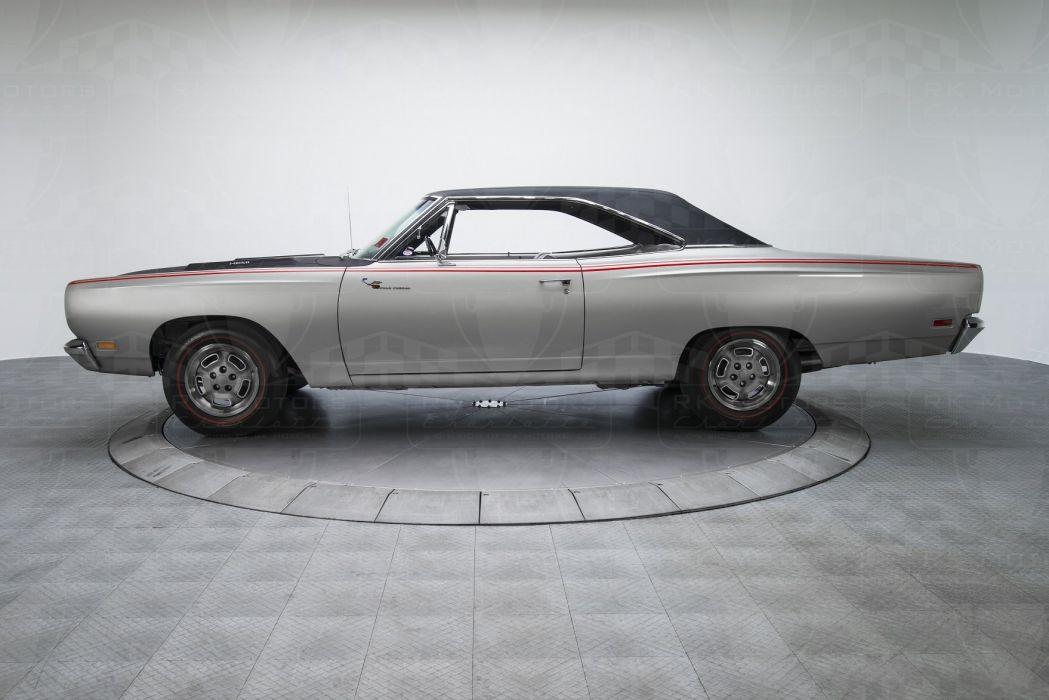 1969 Plymouth Road Runner cars HEMI 426 Platinum Metallic wallpaper