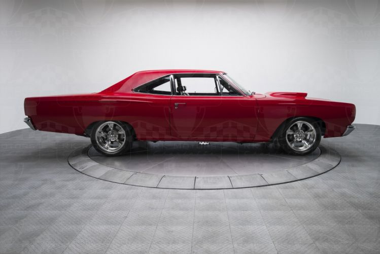 1969 Plymouth Road Runner cars 440 Six Pack red wallpaper