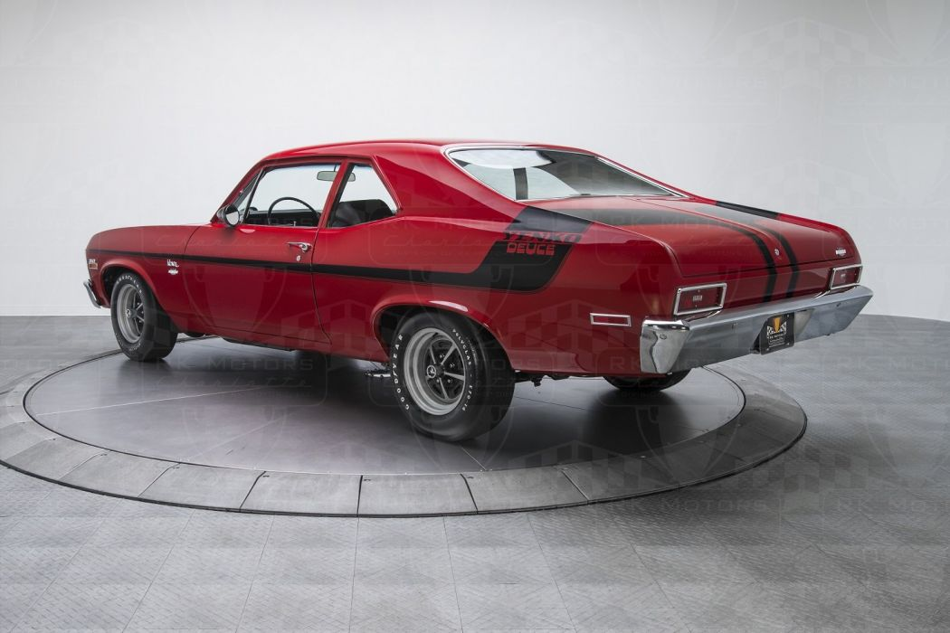 1970 Chevrolet Yenko Nova 350 red cars Deuce wallpaper