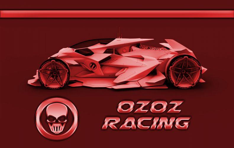 0z0z Red Racer wallpaper