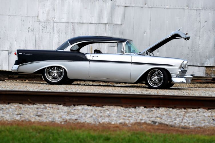 1956 Chevy Bel Air Resto mod cars wallpaper