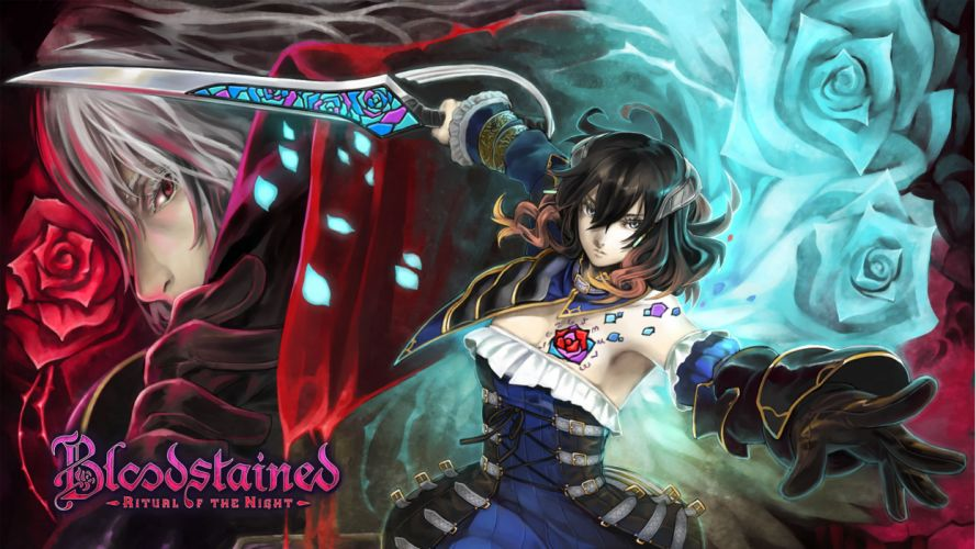 Bloodstained-Ritual-of-the-Night-1-4K-Wallpaper wallpaper