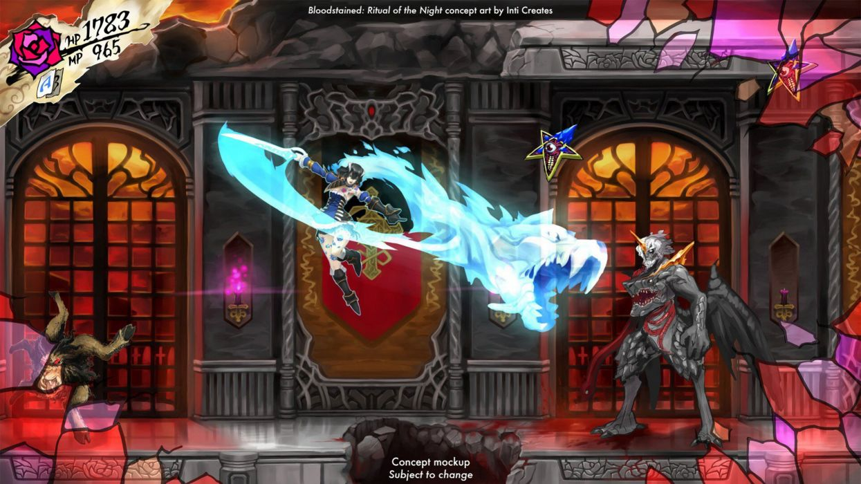 Bloodstained-Ritual-of-the-Night-4K-Wallpaper 2 wallpaper