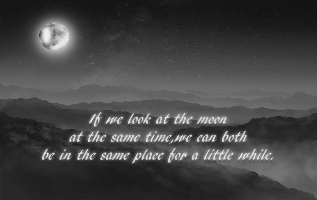 Lovers Moon wallpaper