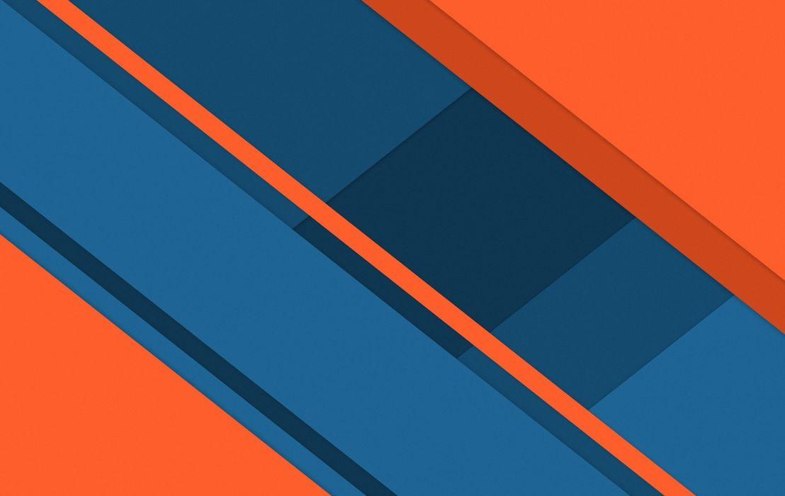 Orange Material wallpaper