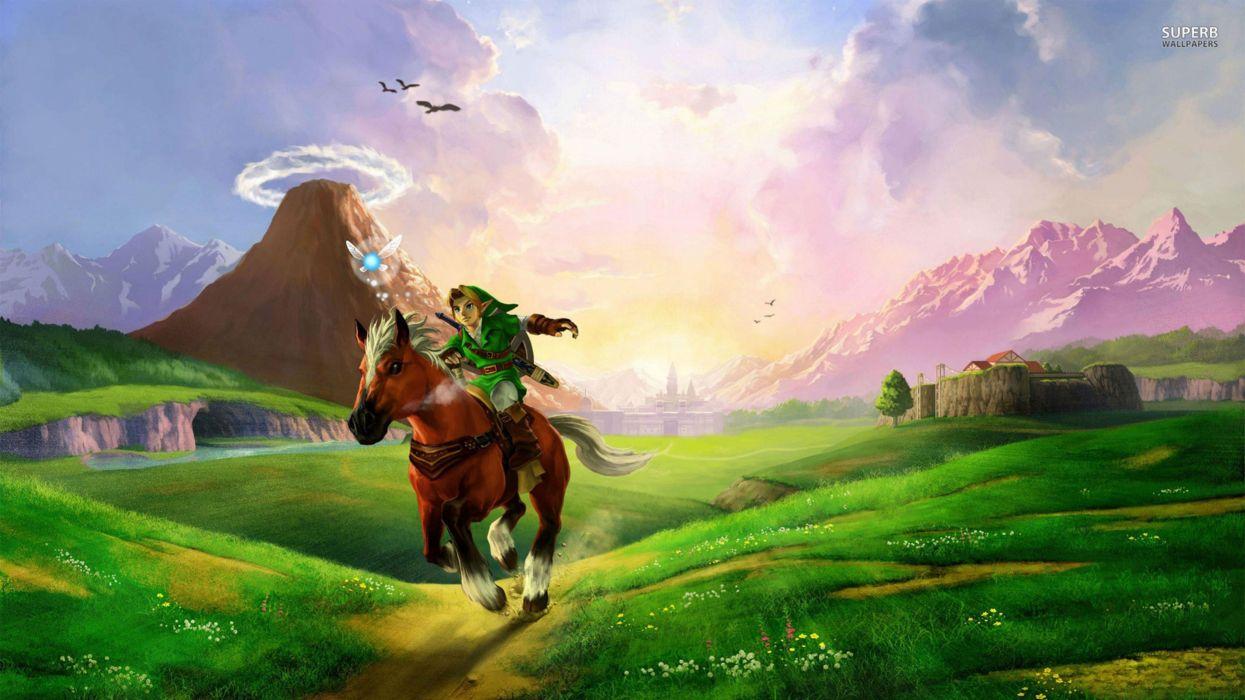 The Legend Of Zelda Twilight Princess Hd 4k Wallpaper Wallpaper