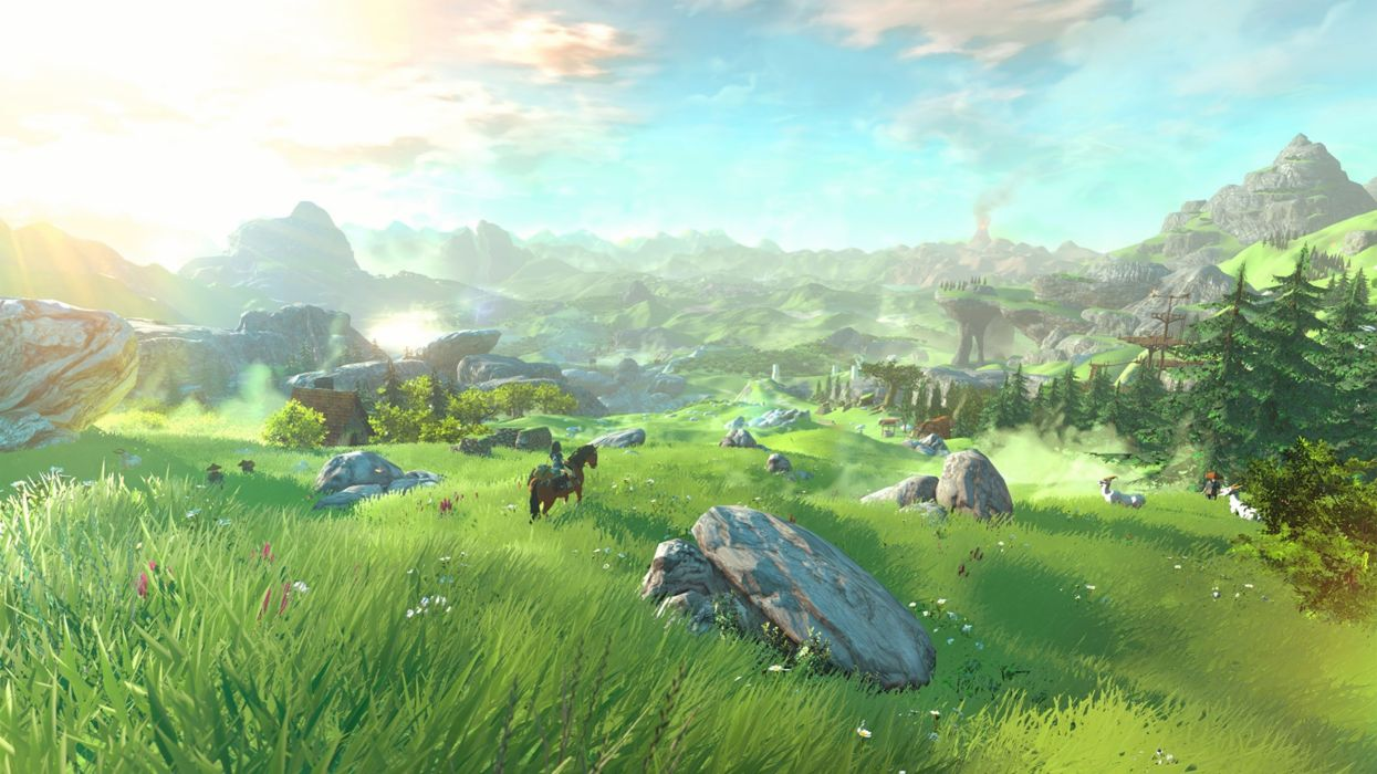 The Legend Of Zelda Twilight Princess Hd 4k Wallpaper 2 Wallpaper