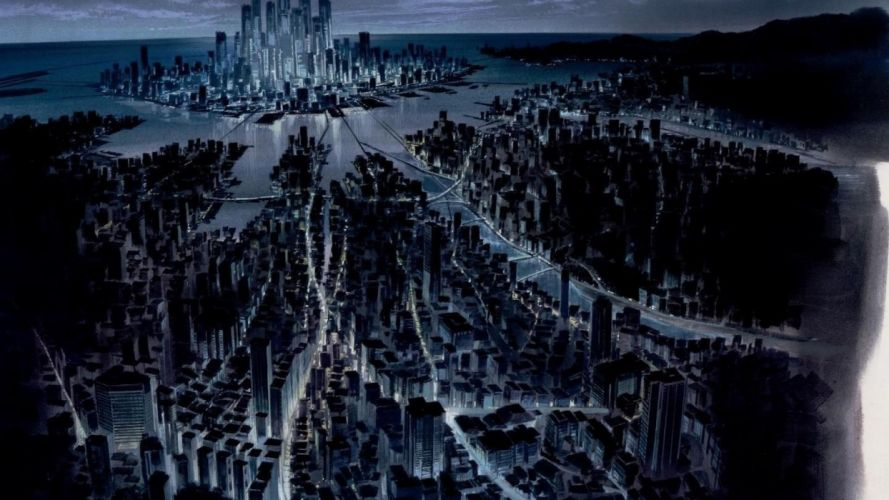 anime Cityscape Ghost In The Shell wallpaper