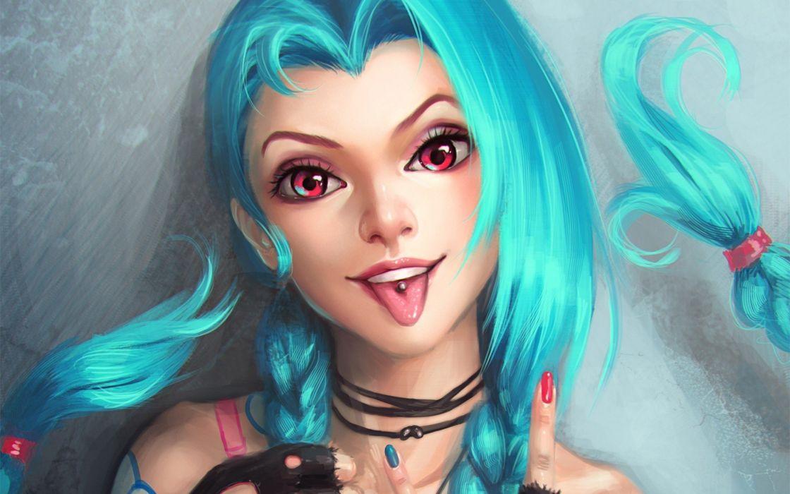 Jinx (League Of Legends) League Of Legends wallpaper
