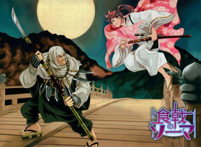 Shun Saeki Mangaka Shokugeki no Souma Series Souma Yukihira Character Subaru Mimasaka Character wallpaper
