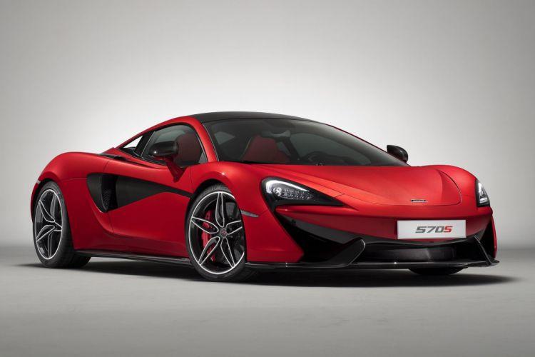 2017 McLaren 570S Design Edition cars red wallpaper