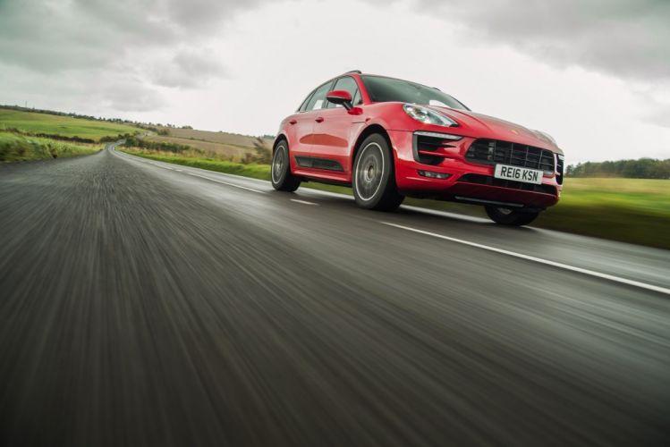 Porsche Macan GTS UK-spec (95B) cars suv red 2016 wallpaper
