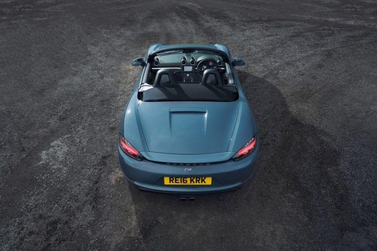 Porsche 718 Boxster UK-spec (982) cars 2016 wallpaper