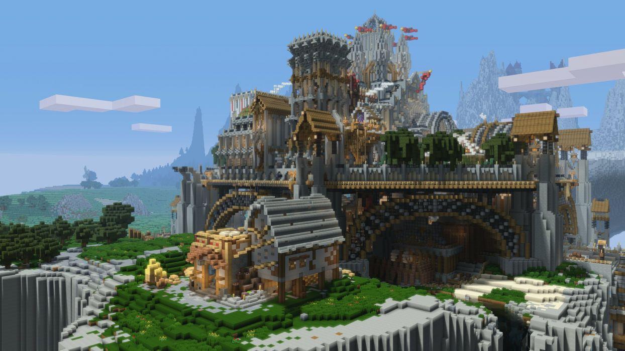 Minecraft PS4 wallpaper