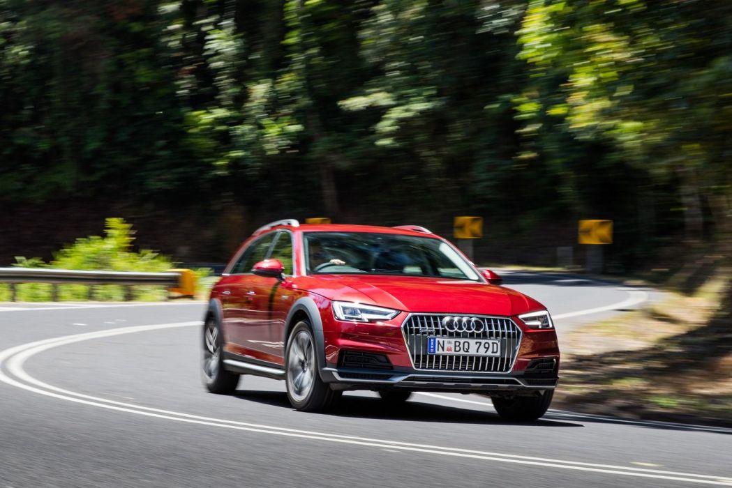 Audi (A4) allroad (2 0) TFSI quattro AU-spec (B9) cars wagon 2016 wallpaper