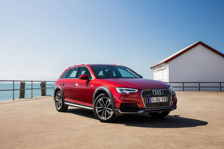 Audi (A4) allroad (2 0) TFSI quattro AU-spec (B9) cars wagon 2016 wallpaper