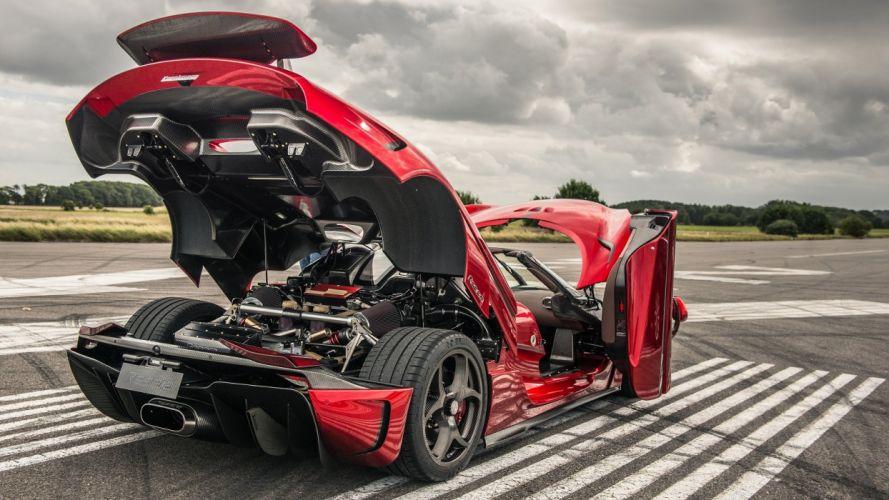 Koenigsegg Regera cars supercars red 2015 wallpaper
