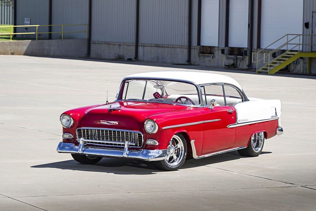 1955 Chevy Bel Air cars custom wallpaper