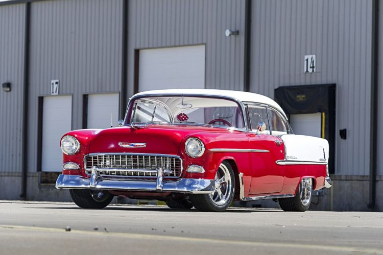 1955 Chevy Bel Air cars custom wallpaper