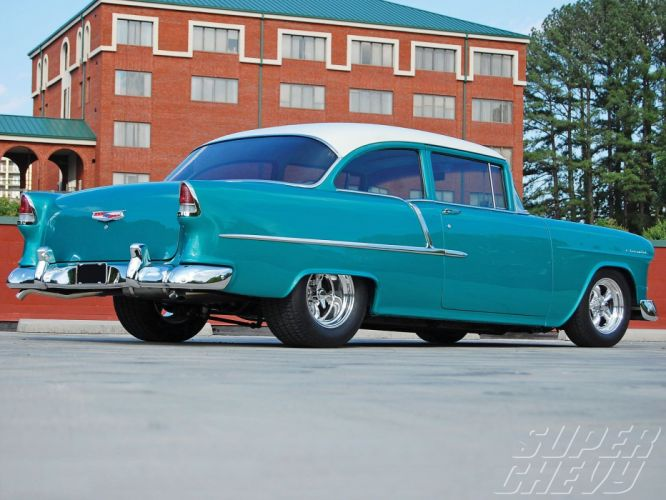 1955 Chevrolet 2010 cars chevy blue wallpaper