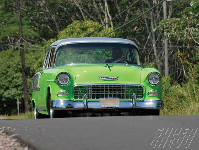 1955 Chevy 210 Sedan cars Delray wallpaper