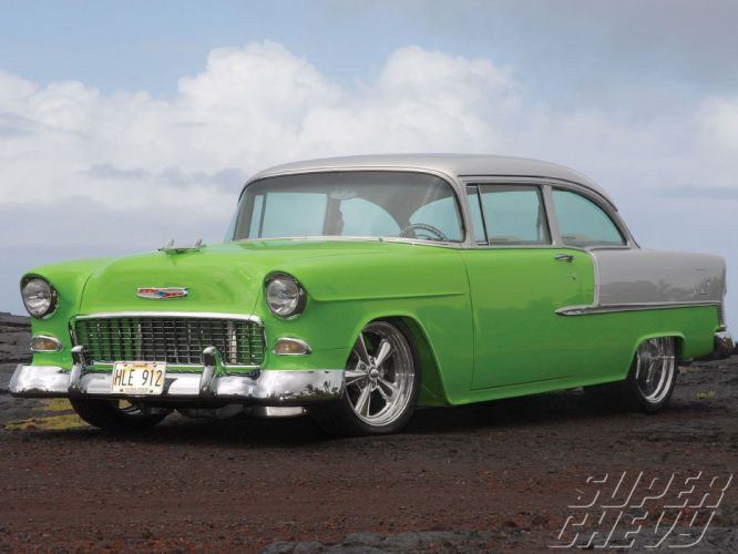 1955 Chevy 210 Sedan cars Delray wallpaper