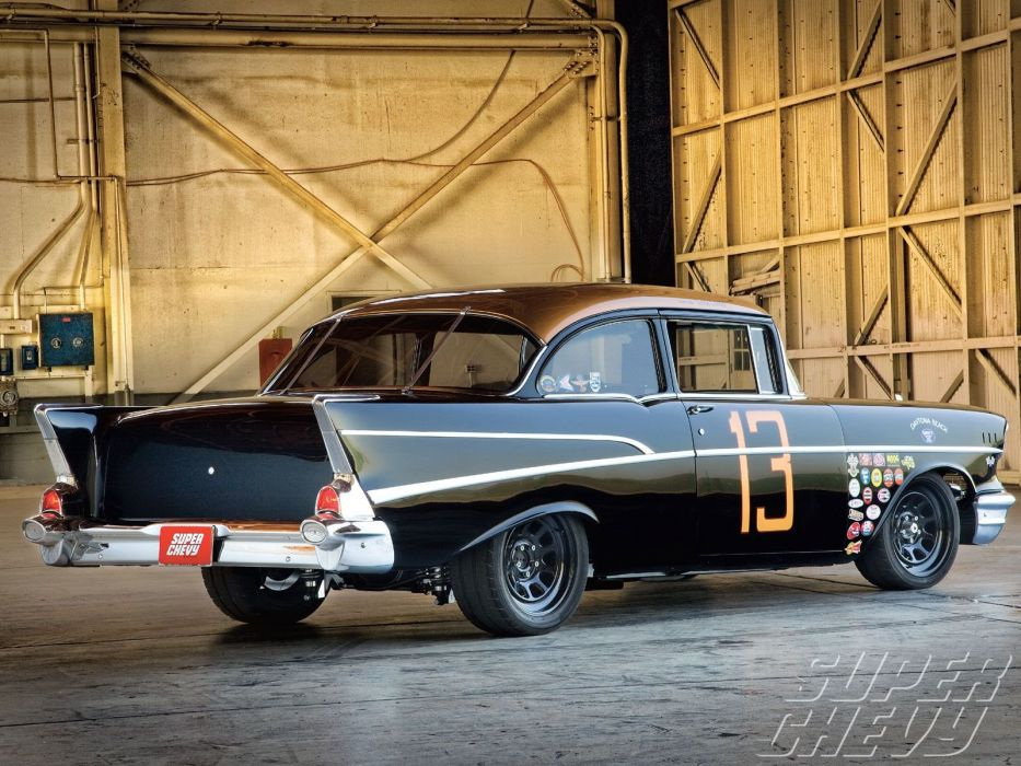1957 Chevy 210 Sedan cars wallpaper