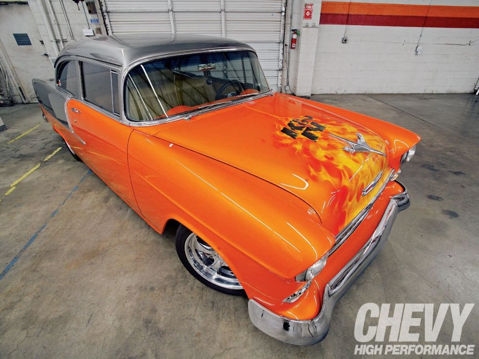 1955 Chevy 210 cars wallpaper