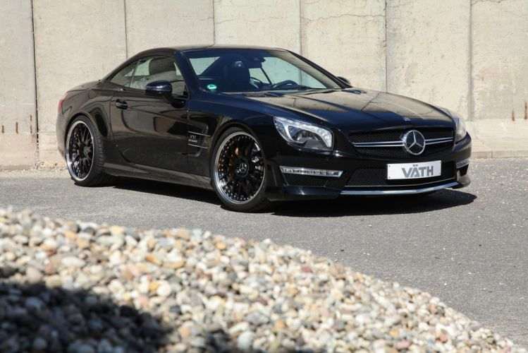 VATH Mercedes AMG SL65 (R231) cars black modified 2016 wallpaper