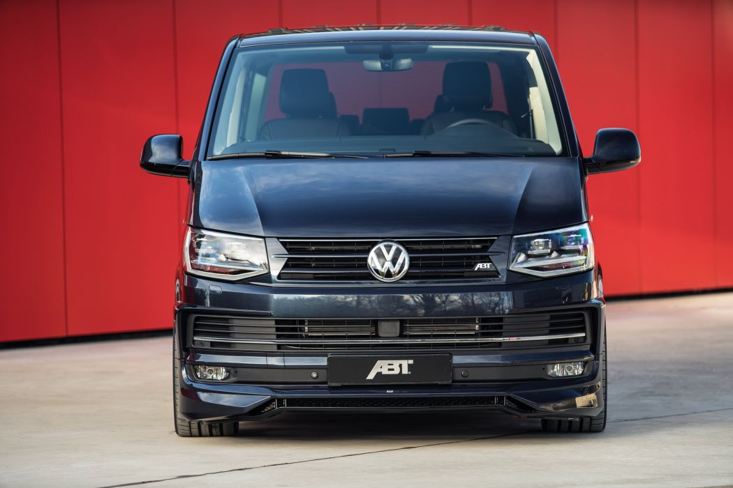 ABT Volkswagen Multivan (T6) cars modified black 2016 wallpaper