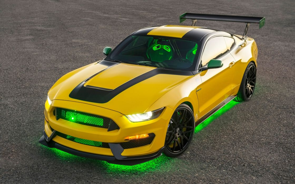 2016 Ford Ole Yeller Mustang Shelby GT350 wallpaper