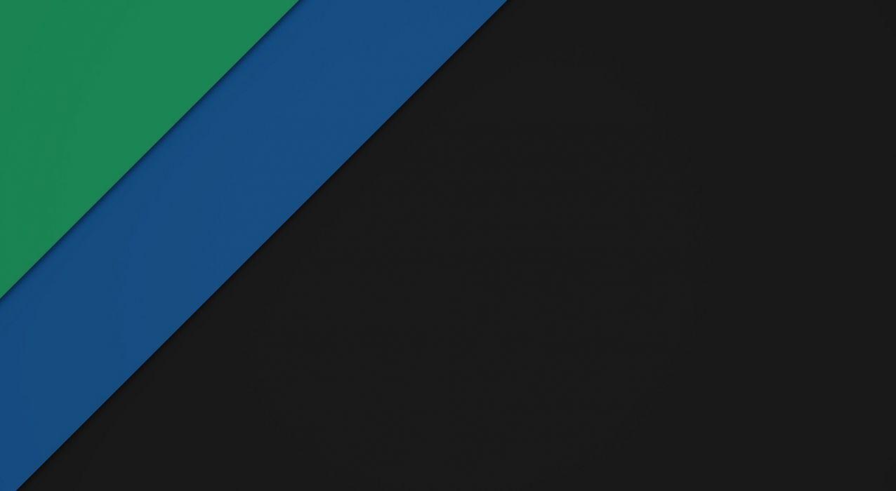 Material Dark Green and Blue  wallpaper