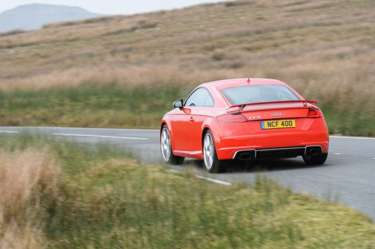 Audi TT-RS Coupe UK-spec (8S) cars 2016 wallpaper