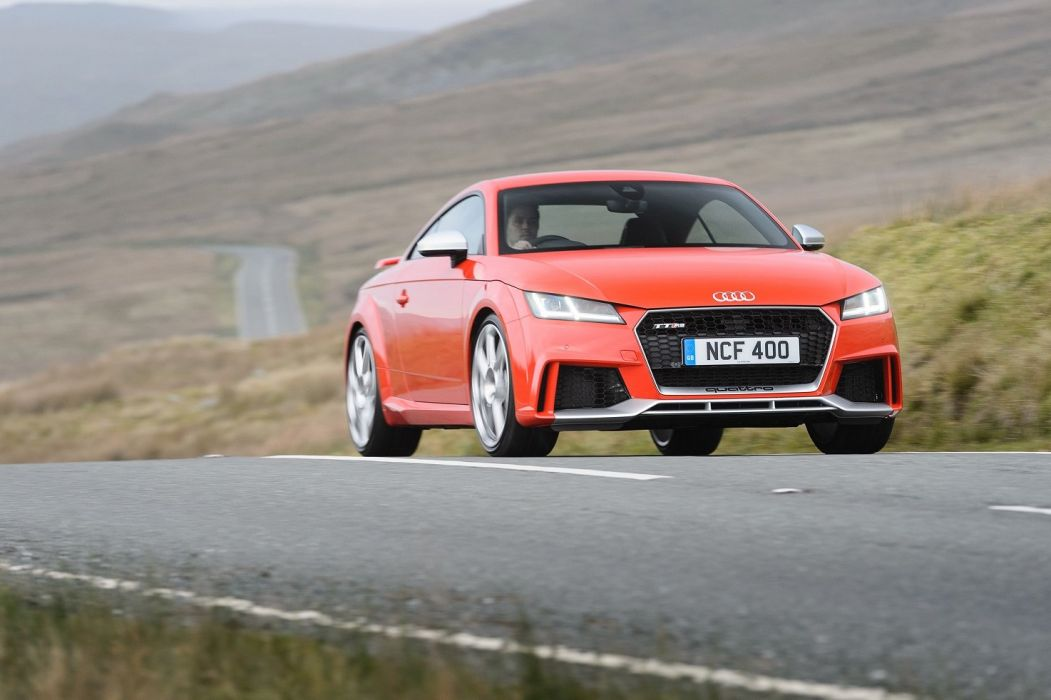 Audi TT-RS Coupe UK-spec (8S) cars 2016 wallpaper
