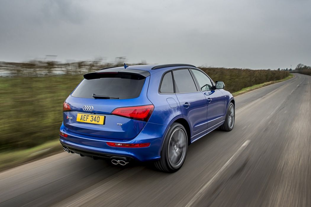 Audi SQ5 TDI plus UK-spec (8R) cars suv blue 2016 wallpaper