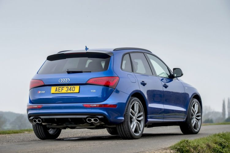 Audi SQ5 TDI plus UK-spec (8R) cars suv blue 2016 wallpaper