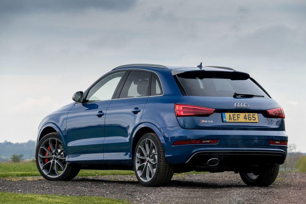 Audi RS-Q3 performance UK-spec (8U) cars suv blue 2016 wallpaper