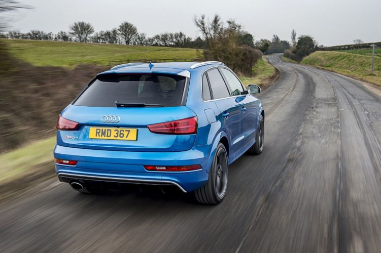 Audi RS-Q3 performance UK-spec (8U) cars suv blue 2015 wallpaper