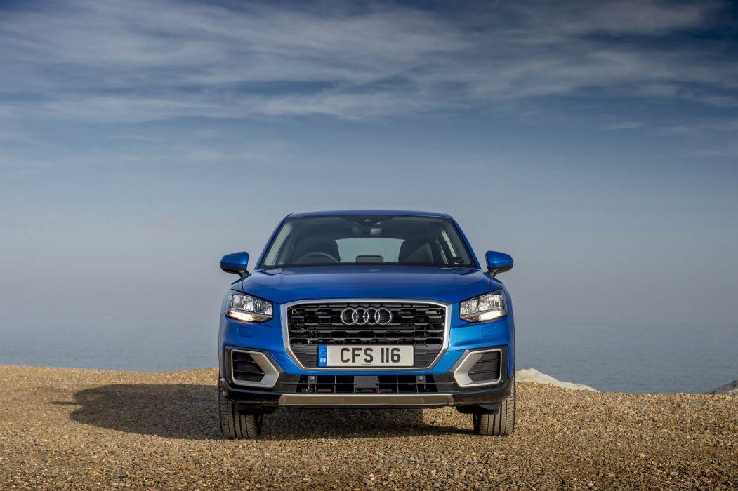 Audi (Q2) TDI design UK-spec cars suv blue 2016 wallpaper