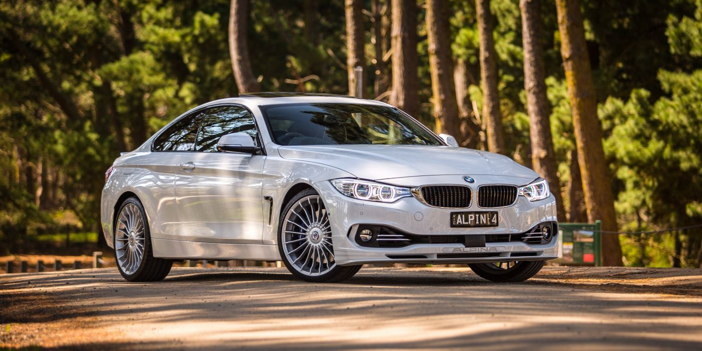 Alpina bmw (B4) Bi-Turbo Coupe AU-spec (F32) cars white modified 2014 wallpaper