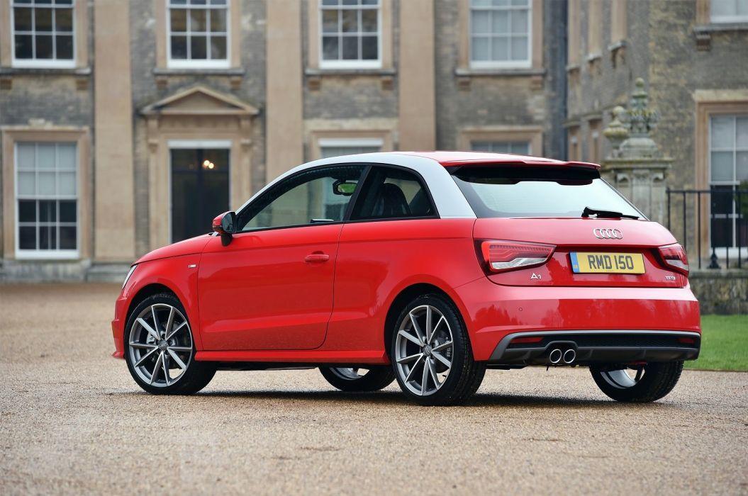 Audi (A1) TFSI S-line UK-spec (8X) cars 2014 wallpaper