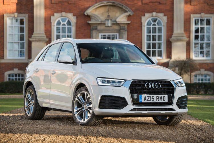 Audi (Q3) TDI quattro S-line UK-spec (8U) cars suv white 2015 wallpaper